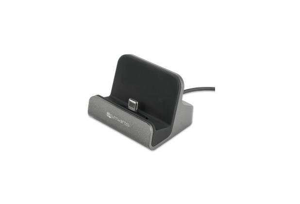 4smarts USB Typ-C Ladestation VoltDock 10W grau