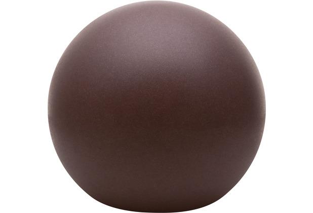 8 Seasons Dekoleuchte Shining Globe \'Brown\' (Solar) 30 cm