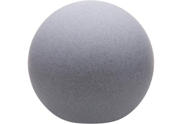 8 Seasons Dekoleuchte Shining Globe \'Stone\' (Solar) 30 cm