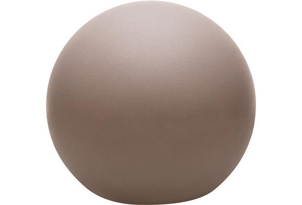 8 Seasons Dekoleuchte Shining Globe \'Taupe\' 30 cm