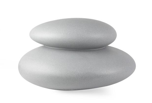 8 Seasons Dekoleuchte Shining Stone \'Grey\' (Solar) L