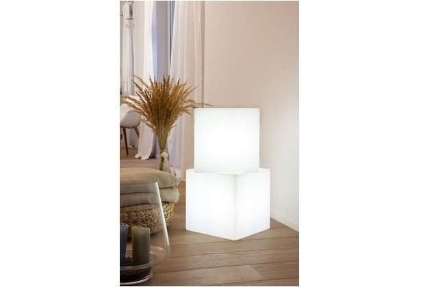 8 Seasons Shining Cube 43 cm LED
