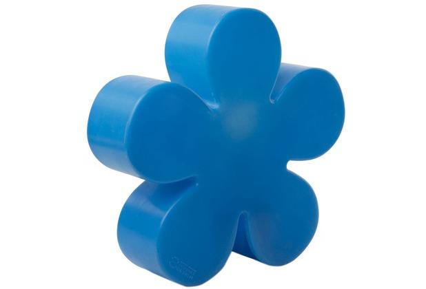 8 Seasons Shining Flower Ø 40 cm blau