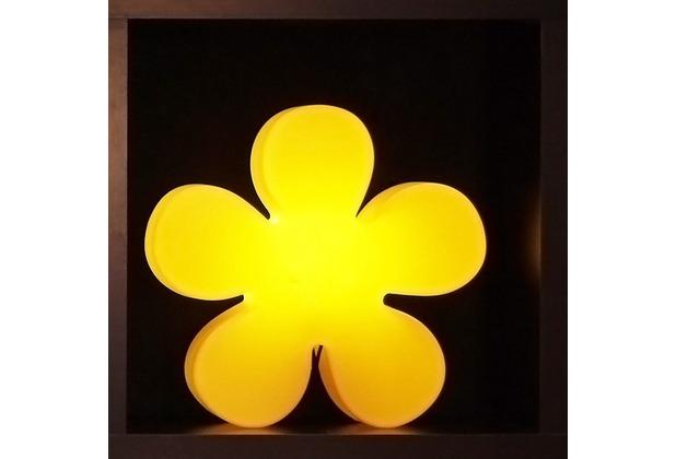 8 Seasons Shining Flower gelb Ø 40 cm