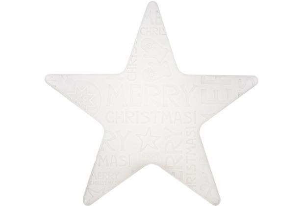"8 Seasons Shining Star \""Merry Christmas\"" Ø 60 cm LED"