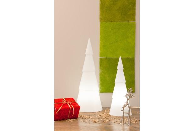 8 Seasons Shining Tree rund 75 cm LED