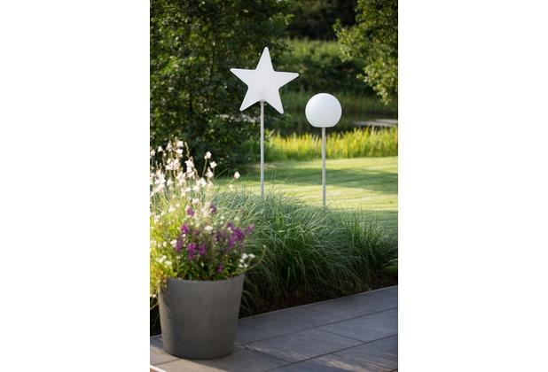 8 Seasons Star Merry X-Mas on Stick (LED) 130 cm