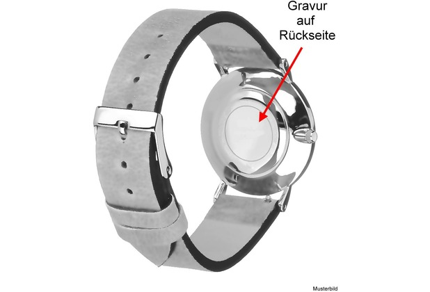 s.Oliver Armbanduhr MIT GRAVUR (z.B. Namen) SO-3133-LQ Mädchenuhr blau/weiß/rosa Uhr für Mädchen Kinderuhr