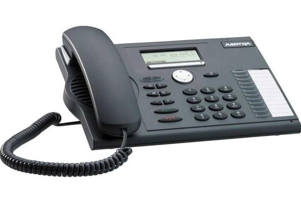Aastra 5370 anthazit Digitales Systemtelefon Standard