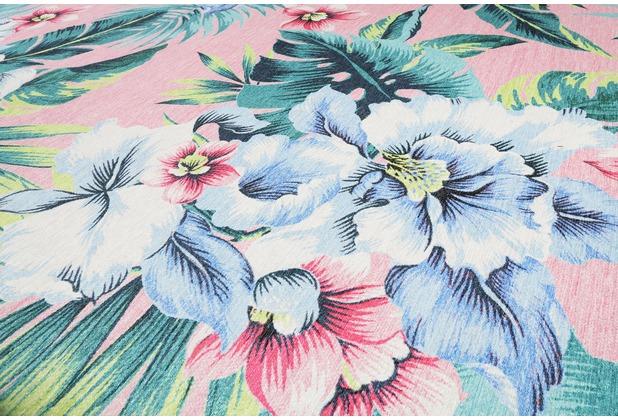 Accessorize Kurzflor-Teppich Tropical Orchid ACC-38605-01 rosa 80x150 cm