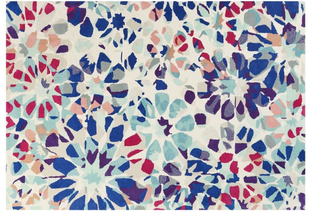 Accessorize Teppich Kaleidoscopes ACC-006-10 dunkelblau 80x150