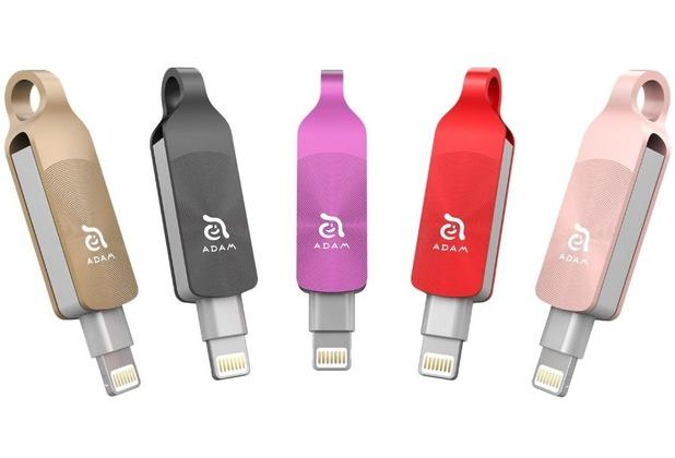 ADAM Elements iKlips DUO+ - 32GB - schwarz