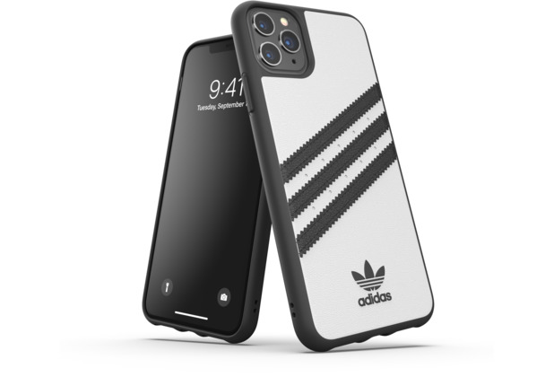 adidas OR Moulded Case PU FW19 for iPhone 11 Pro Max white/black