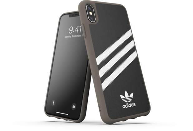 adidas OR Moulded Case PU Gumsole SS19 for iPhone XS Max black/white