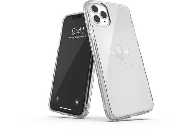 adidas OR Protective Clear Case Big Logo FW19 for iPhone 11 Pro Max clear