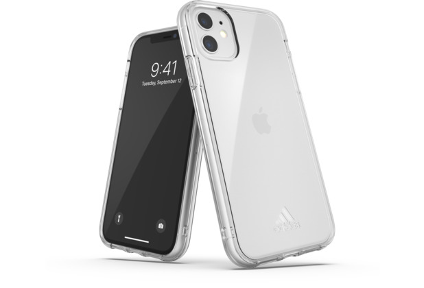 adidas SP Protective Clear Case Small Logo FW19 for iPhone 11 clear