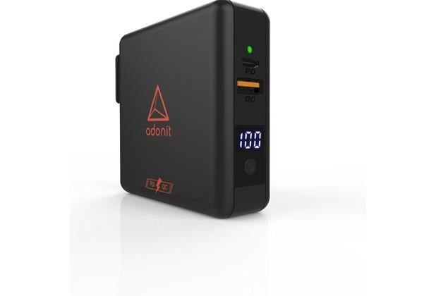 adonit Adonit Wireless TravelCube Pro Reiseladegerät, Qi, EU,UK,US,AU,Asia, schwarz, ADWTCP