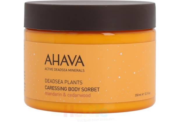 Ahava Deadsea Plants Caressing Body Sorbet - 350 ml
