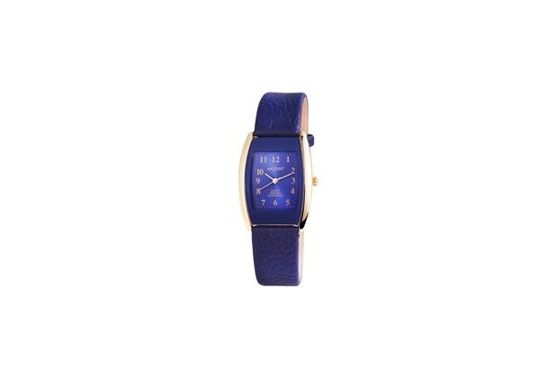 Akzent Damenuhr mit Lederimitationsarmband 1900043-003