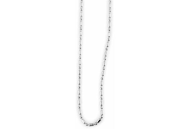 Akzent Edelstahl-Kugelkette, Länge 55 cm - silber 002275000008