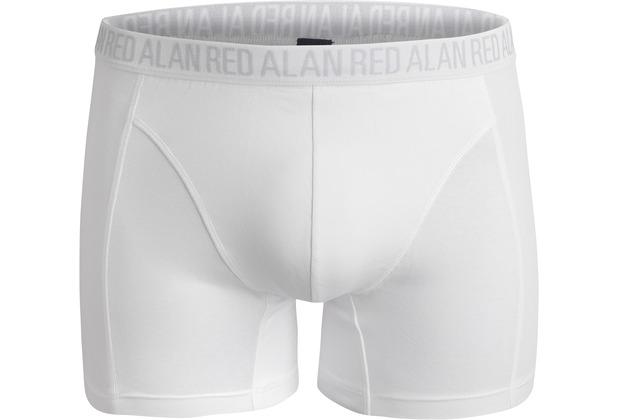 Alan Red 2 Boxer long Body Fit white L