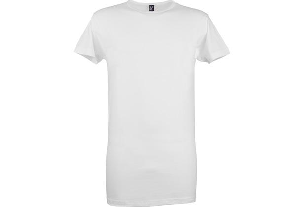 Alan Red DERBY LONG T-SHIRT, O-Neck, EXTRA LONG 2er Pack white S