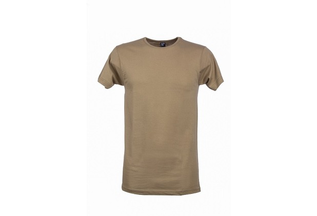Alan Red DERBY T-SHIRT, MEDIUMFIT, O-Neck dark khaki S