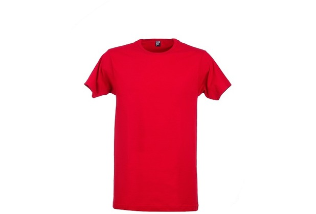 Alan Red DERBY T-SHIRT, O-Neck stone red S