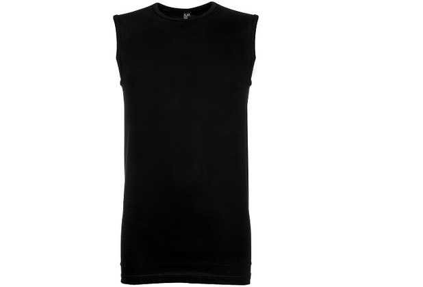Alan Red MONTANA UNTERHEMD, SLIMFIT, O-NECK, armlos black S