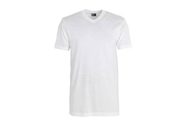 Alan Red West-Virginia Medium Fit, Classic V-Neck (V-Ausschnitt) 2er Pack white L