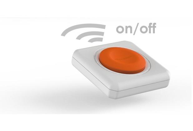 allocacoc power remote fernbedienung f r powercube remote funktioniert ganz ohne strom. Black Bedroom Furniture Sets. Home Design Ideas