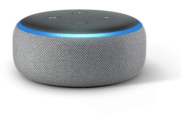 Amazon Echo Dot 3, hellgrau