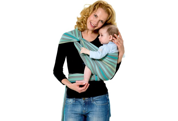 Amazonas Babytragetuch Carry Sling pacific 450 cm