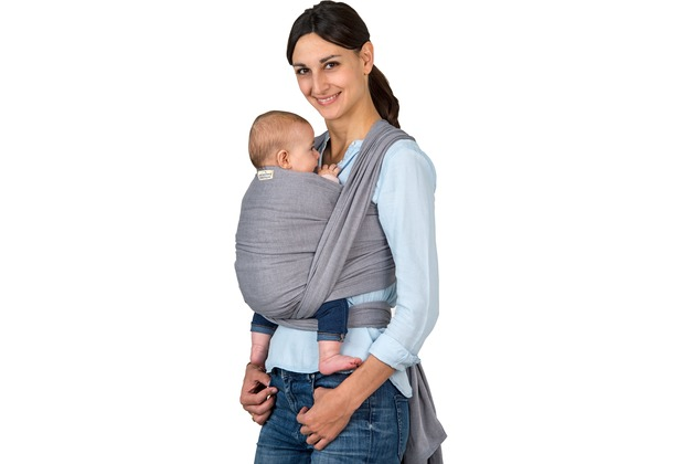 Amazonas Babytragetuch Carry Sling grey 510 cm