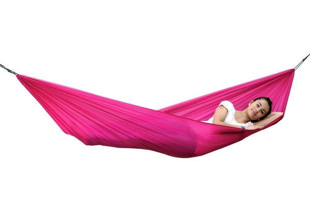 Amazonas Reisehängematte Travel Set pink