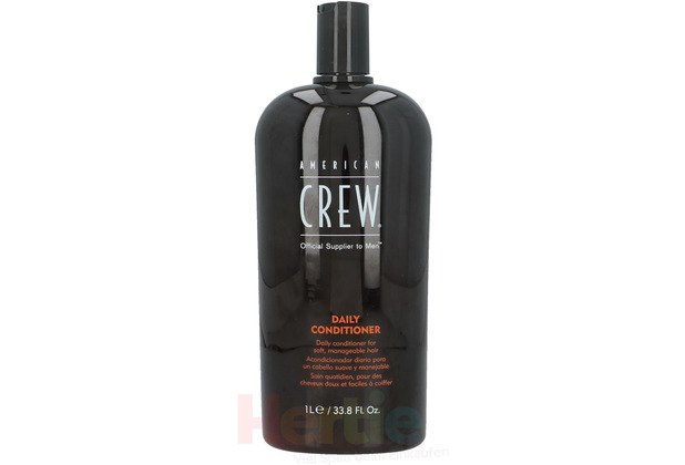 American Crew Daily Conditioner Daily conditioner for soft, manageable hair 1000 ml