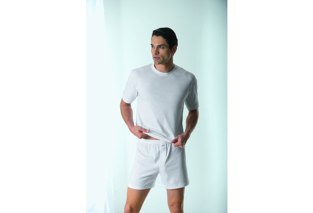AMMANN Boxer-Short, Basic Cotton, weiß 5