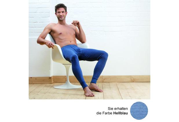 AMMANN Hose lang mit Eingriff, Serie Jeans, hellblau 5