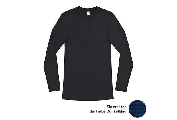 AMMANN Shirt 1/1 Arm, Serie Dunova, dunkelblau M