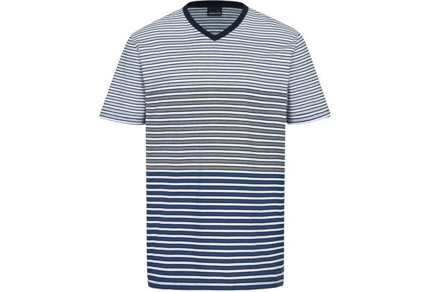 AMMANN Shirt 1/2 Arm, V-Ausschnitt, dunkelblau S