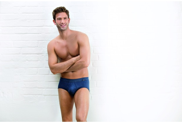 AMMANN Slip mit Eingriff, Serie Jeans, dunkelblau 5