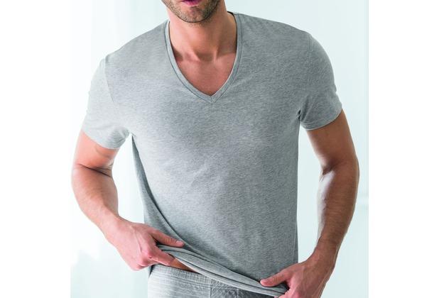 AMMANN V-Shirt, Serie Urban Traveller, cloud melange 5