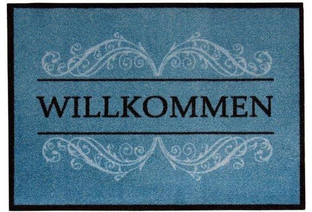 Andiamo Fußmatte Carmen blau 39 x 58 cm