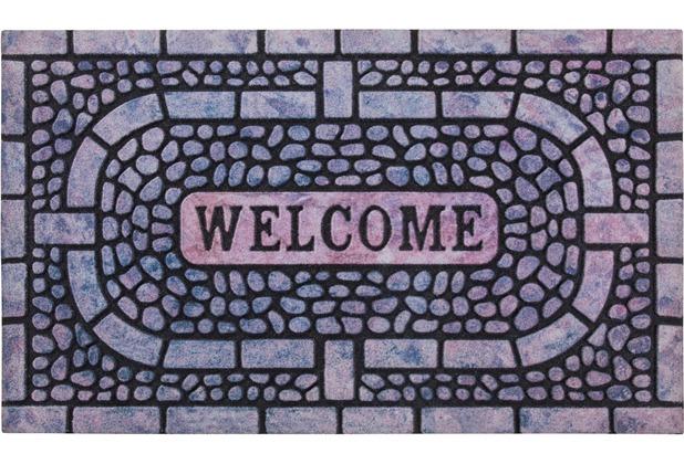 Andiamo Fußmatte La Traviata Welcome 45x75
