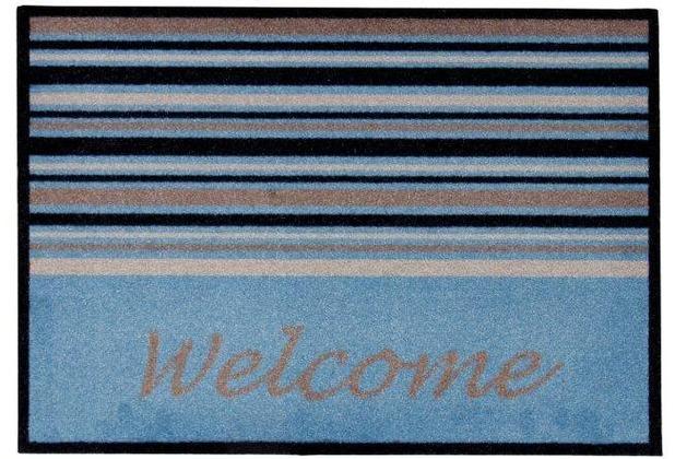 Andiamo Fußmatte Medea blau 39 x 58 cm