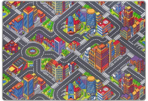Andiamo Spielteppich Big City multi 140 cm x 200 cm