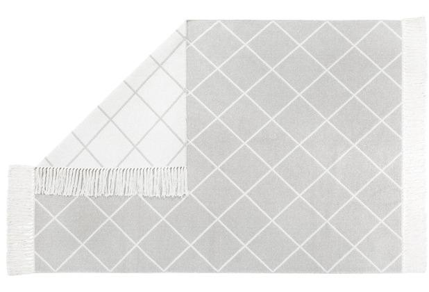 Andiamo Teppich Glitter weiß-creme 140 cm x 200 cm