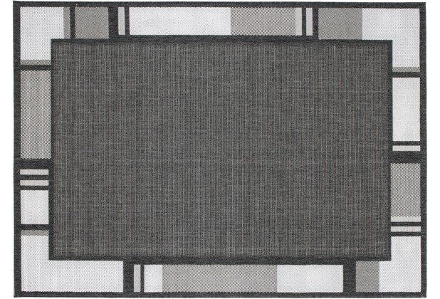 Andiamo Teppich New Orleans, anthrazit/silber 160 x 230 cm