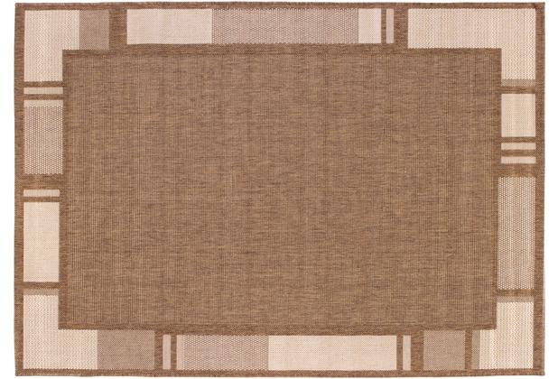 Andiamo Teppich New Orleans braun/beige 160 x 230 cm