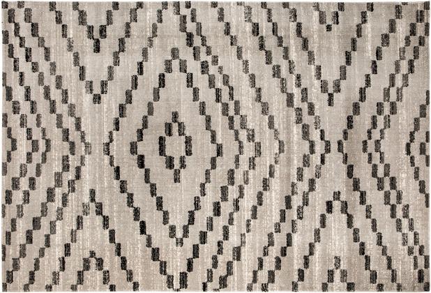 Andiamo In- & Outdoorteppich Bonnie grau gemustert 120 x 170 cm